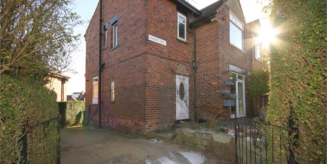 Guide Price £200,000, 3 Bedroom Semi Detached House For Sale in Sheffield, S6