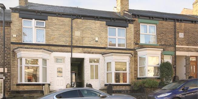£165,000, 3 Bedroom Terraced House For Sale in Sheffield, S6