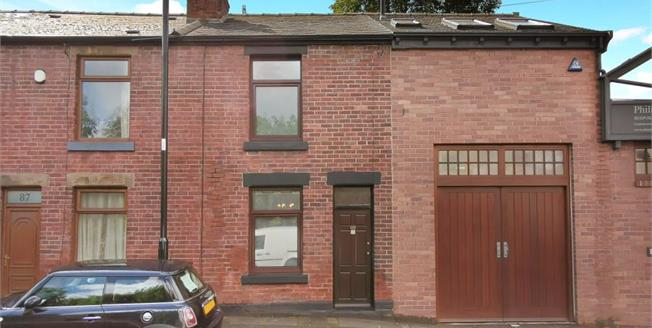 Guide Price £110,000, 2 Bedroom Terraced House For Sale in Sheffield, S6
