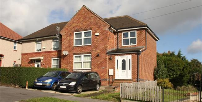 Guide Price £145,000, 4 Bedroom Semi Detached House For Sale in Sheffield, S6