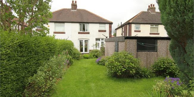 Guide Price £200,000, 3 Bedroom Semi Detached House For Sale in Sheffield, S8
