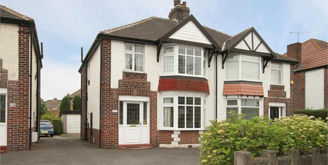 Guide Price £210,000, 3 Bedroom Semi Detached House For Sale in Sheffield, S8