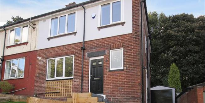 Guide Price £265,000, 3 Bedroom Semi Detached House For Sale in Sheffield, S8