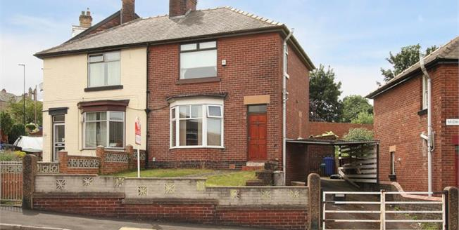 Guide Price £150,000, 3 Bedroom Semi Detached House For Sale in Sheffield, S2