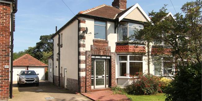 £195,000, 3 Bedroom Semi Detached House For Sale in Sheffield, S8