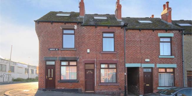 Guide Price £95,000, 2 Bedroom Terraced House For Sale in Sheffield, S2