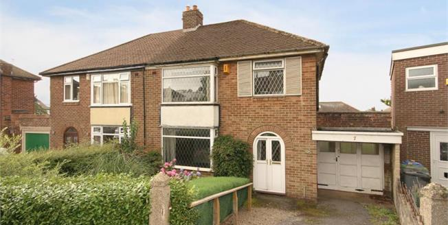 Guide Price £235,000, 3 Bedroom Semi Detached House For Sale in Sheffield, S8
