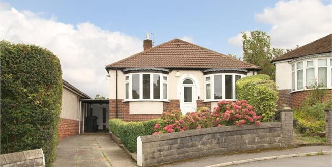 £240,000, 3 Bedroom Detached Bungalow For Sale in Sheffield, S8
