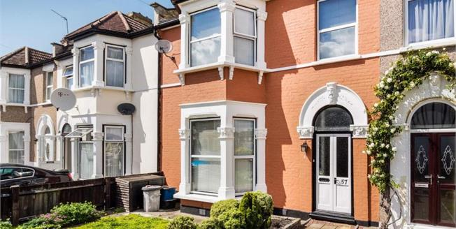 Guide Price £475,000, 3 Bedroom Terraced House For Sale in Ilford, IG3