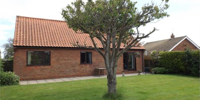 £250,000, 3 Bedroom Detached Bungalow For Sale in Happisburgh, NR12