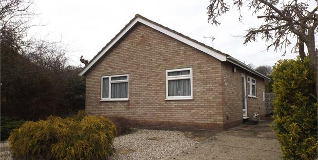 Asking Price £245,000, 2 Bedroom Detached Bungalow For Sale in Cromer, NR27