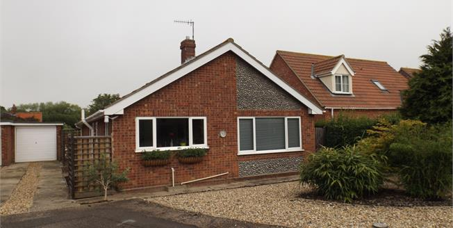 Asking Price £270,000, 2 Bedroom Detached Bungalow For Sale in Overstrand, NR27