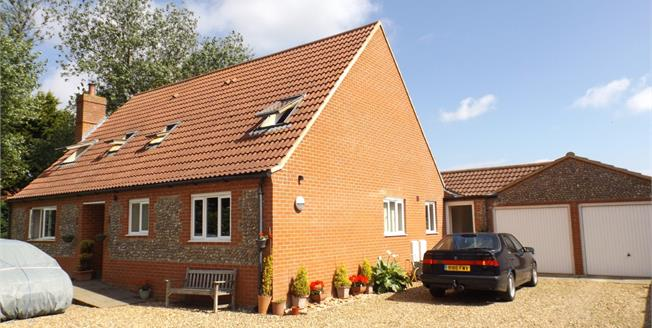 Asking Price £395,000, 4 Bedroom Detached Bungalow For Sale in Bacton, NR12