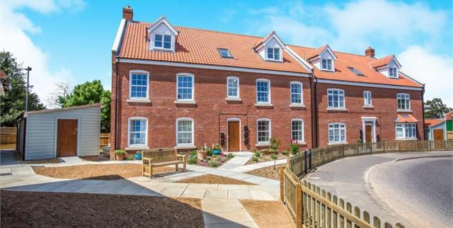 Asking Price £137,500, 2 Bedroom Upper Floor Flat For Sale in North Walsham, NR28