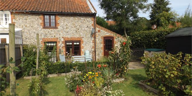 Asking Price £220,000, 2 Bedroom Semi Detached Cottage For Sale in Southrepps, NR11