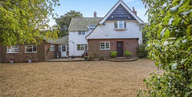 Asking Price £630,000, 5 Bedroom Detached House For Sale in Overstrand, NR27
