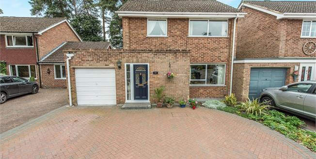 Offers in excess of £435,000, 3 Bedroom Detached House For Sale in Camberley, GU15