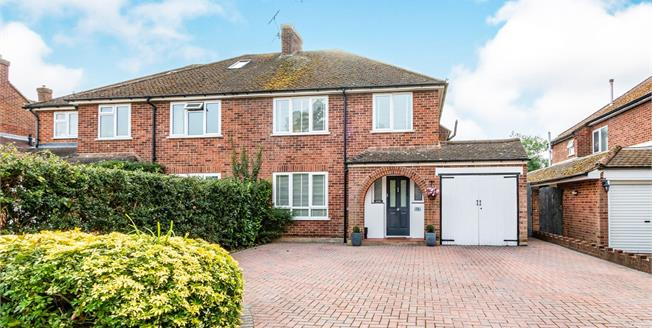 Asking Price £575,000, 3 Bedroom Semi Detached House For Sale in West End, GU24