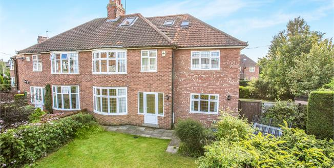 Guide Price £425,000, 6 Bedroom Semi Detached House For Sale in York, YO31