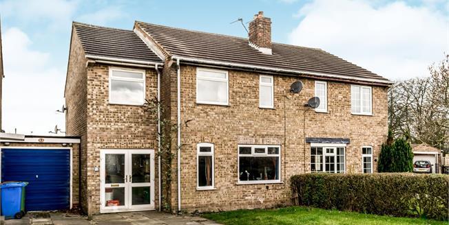 Guide Price £215,000, 4 Bedroom Semi Detached House For Sale in Stamford Bridge, YO41