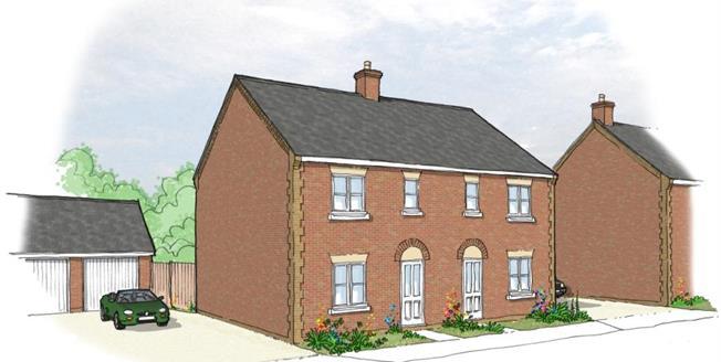 £181,280, 3 Bedroom Semi Detached House For Sale in Downham Market, PE38