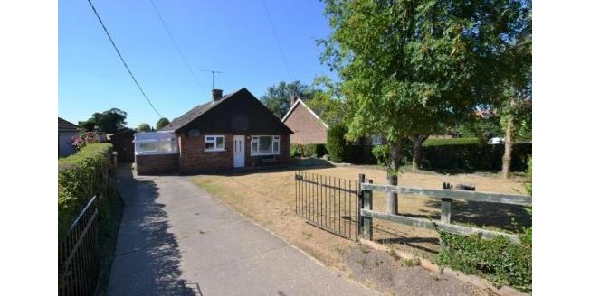 Guide Price £225,000, 3 Bedroom Detached Bungalow For Sale in Methwold, IP26