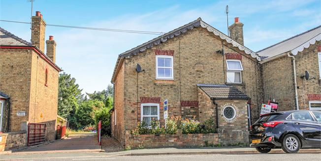 Offers in the region of £160,000, 2 Bedroom End of Terrace House For Sale in Littleport, CB6