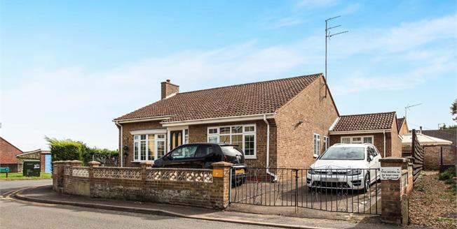 Guide Price £270,000, 3 Bedroom Detached Bungalow For Sale in Soham, CB7