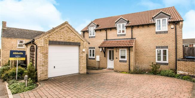 Guide Price £375,000, 4 Bedroom Detached House For Sale in Sutton, CB6
