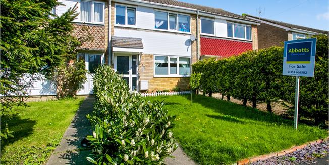 Guide Price £220,000, 3 Bedroom Terraced House For Sale in Sutton, CB6