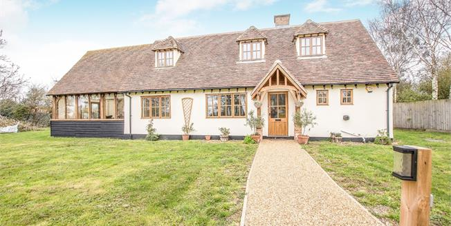 Offers Over £550,000, 4 Bedroom Detached House For Sale in Little Thetford, CB6