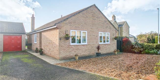 Guide Price £280,000, 3 Bedroom Detached Bungalow For Sale in Doddington, PE15