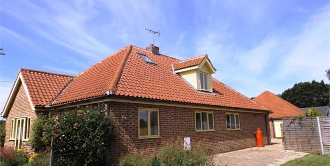 Asking Price £350,000, 4 Bedroom Detached Bungalow For Sale in Horningtoft, NR20