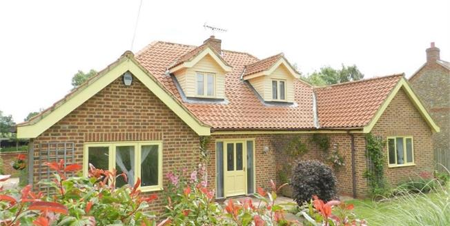 Asking Price £350,000, 4 Bedroom Detached Bungalow For Sale in Horningtoft, NR20
