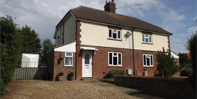 Guide Price £170,000, 3 Bedroom Semi Detached House For Sale in Great Ryburgh, NR21