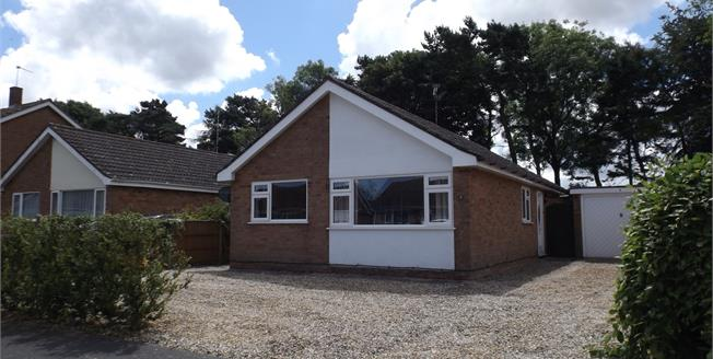 Guide Price £220,000, 3 Bedroom Detached Bungalow For Sale in Fakenham, NR21