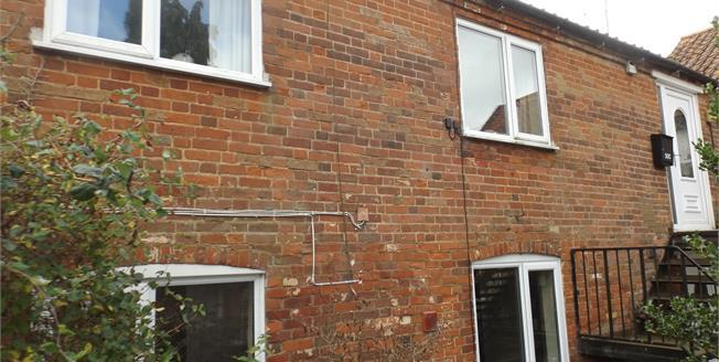 Guide Price £80,000, 1 Bedroom Flat For Sale in Fakenham, NR21
