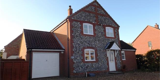 Guide Price £280,000, 3 Bedroom Detached House For Sale in Great Ryburgh, NR21