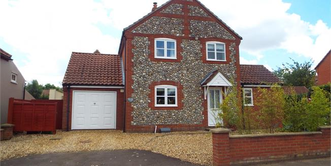 Guide Price £263,500, 3 Bedroom Detached House For Sale in Fakenham, NR21