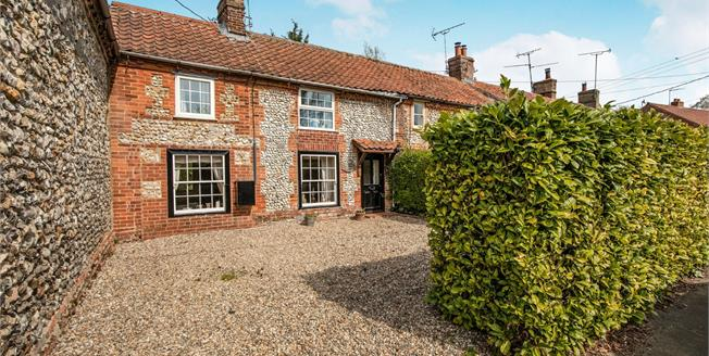 Guide Price £260,000, 3 Bedroom End of Terrace Cottage For Sale in Norfolk, PE31
