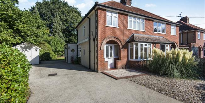 Asking Price £320,000, 3 Bedroom Semi Detached House For Sale in Norwich, NR7