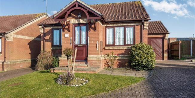 Offers Over £220,000, 2 Bedroom Link Detached House Bungalow For Sale in Halesworth, IP19