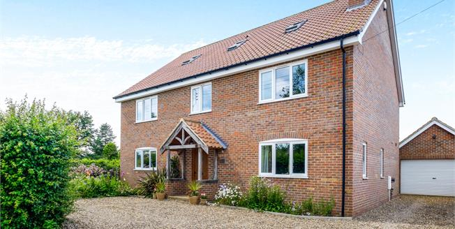 Offers Over £500,000, 5 Bedroom Detached House For Sale in Ilketshall St. Margaret, NR35