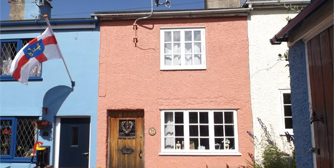 Offers Over £140,000, 1 Bedroom Terraced House For Sale in Halesworth, IP19