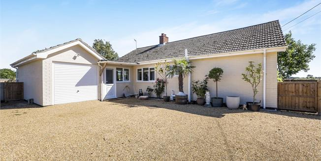 Offers Over £270,000, 2 Bedroom Detached Bungalow For Sale in Ilketshall St. Lawrence, NR34