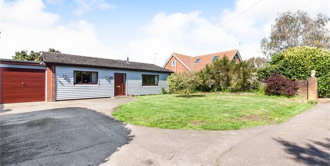 Offers Over £315,000, 3 Bedroom Detached Bungalow For Sale in Reydon, IP18