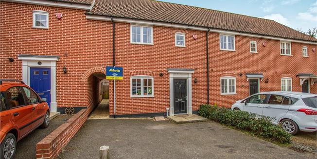 Offers Over £210,000, 3 Bedroom Terraced House For Sale in Halesworth, IP19