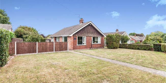 Offers Over £260,000, 3 Bedroom Detached Bungalow For Sale in Halesworth, IP19