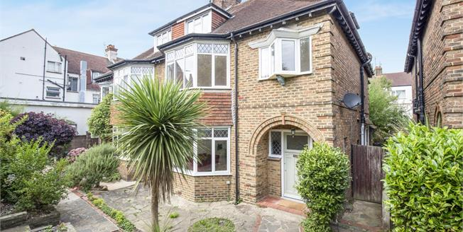 Guide Price £775,000, 4 Bedroom Semi Detached House For Sale in Hove, BN3