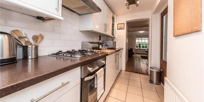 Guide Price £425,000, 2 Bedroom Terraced House For Sale in Brighton, BN1